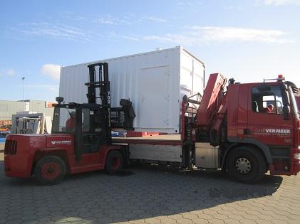 container verkoop